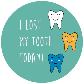 Sticker - I lost my tooth today
