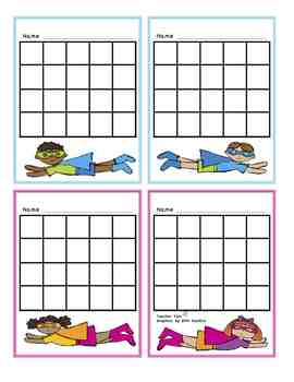 Sticker Incentive Charts for All Year!