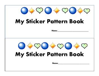 Sticker Pattern Book