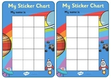 Sticker Reward Chart