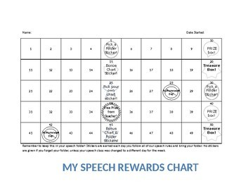 Sticker Reward Charts
