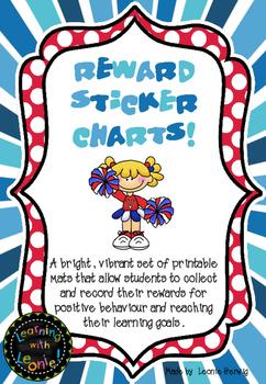 Sticker Reward Charts - free