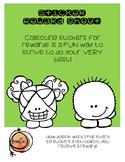 Sticker Reward Sheet
