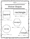 Sticker Shapes: Sides and Vertices