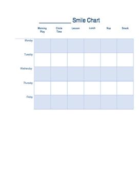 Sticker/Smile Charts