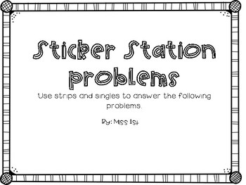 Sticker Station Problems