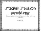 Sticker Station Problems