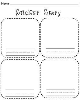 Sticker Stories Writing Center