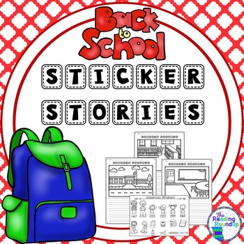 Back to School Sticker Stories Writing Center