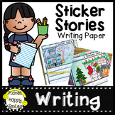 Sticker Story Writing Paper