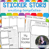 Sticker Story Writing Templates