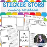 Sticker Story Writing Templates