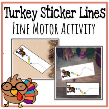 Sticker Turkeys - Fine Motor