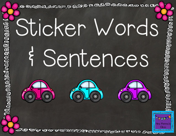 Sticker Words & Sentences