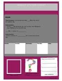 Sticker chart/ENG.: Part 3/4