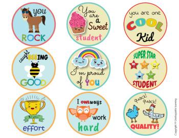 Stickers behavior incentive & reward FREEBIE