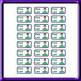 Stickers for drawers boy English