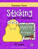 Sticking With Math Journals - Grade 1 -Term 4