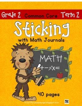 Sticking With Math Journals - Grade 2 - Term 2