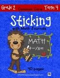 Sticking With Math Journals - Grade 2 - Term 4