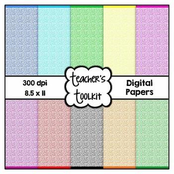 'Sticks' Digital Background Papers {8.5 x 11} Clip Art CU OK