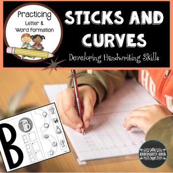 Sticks and Curves: Developmental Handwriting Worksheets