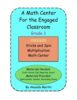Sticks and Spin Multiplication Math Center