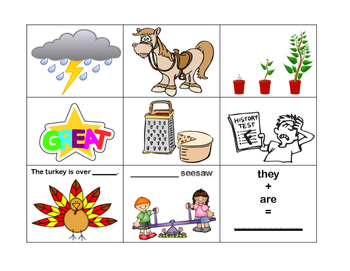 4th Grade Sticks and Stones and Homophones