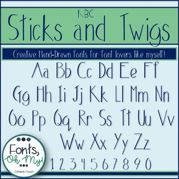 Sticks and Twigs Font