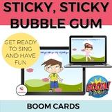 Sticky Bubble Gum BOOM cards: Pronoun, Preposition and Lan