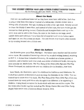 Sticky Cheese Man Literature Guide