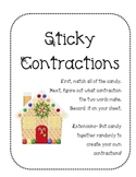 Sticky Contractions Game