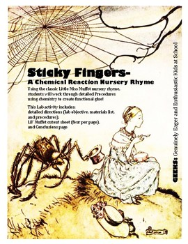 Sticky Fingers- A Chemical Reaction Nursery Rhyme