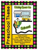 Sticky Goes to School - L1 Gold Theme Unit - Preschool { P