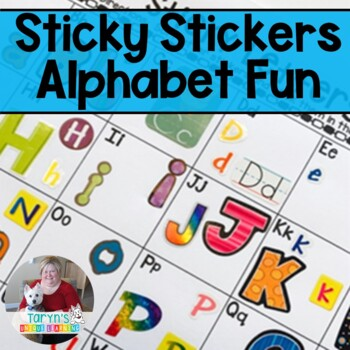 Letter Recognition-  Sticky Letters