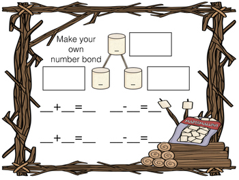 Sticky Marshmallow Number Bonds