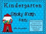 Kindergarten Math Assessment [Sticky Math Facts]