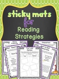 Sticky Mats for Reading Strategies {Upper Elem.} Editable