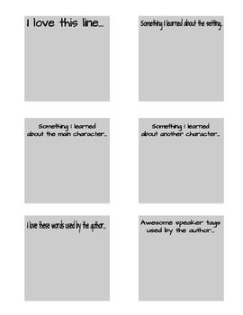 Sticky-Note Bookmarks