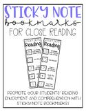Sticky Note Bookmarks