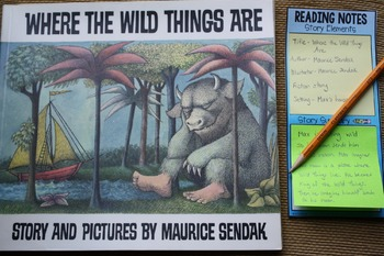 Sticky Note Bookmarks for Young Readers