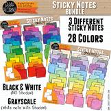 Sticky Note Clip Art BUNDLE