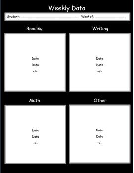 Sticky Note Data Sheet
