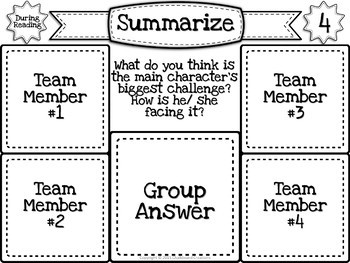 Sticky Note Discussion Circles: Fiction and Nonfiction Bundle