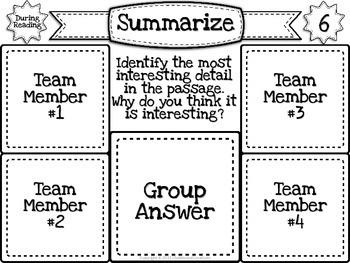 Sticky Note Discussion Circles: Nonfiction (For Any Informational Text)