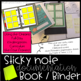 Sticky Note Documentation Binder Bundle! {Ontario FDK & the Four Frames}
