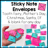 Sticky Note Envelopes - Tooth Fairy