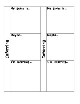 Sticky Note Flip Charts for Reading