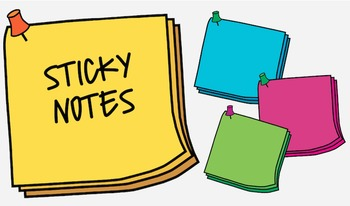 Sticky Note {Freebie!}