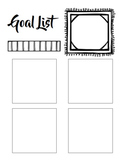 Sticky Note Goal / To Do List